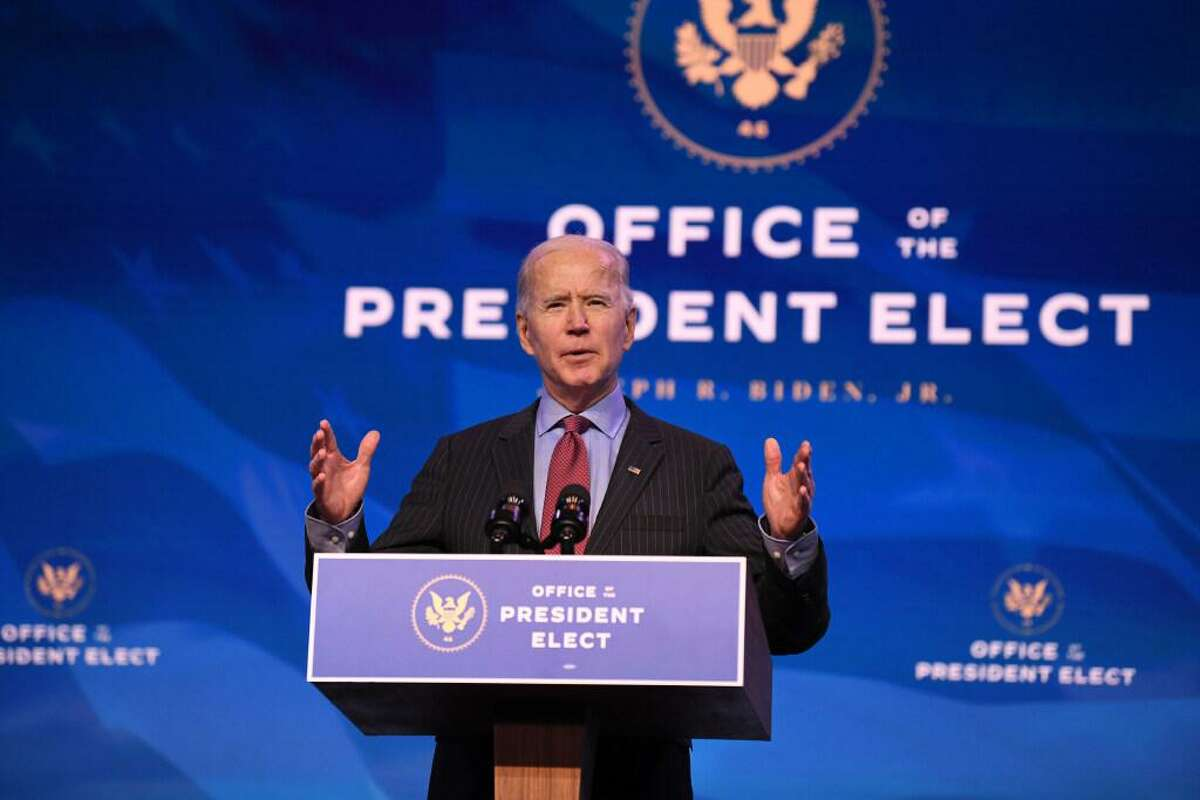 President-elect Joe Biden speaks in Wilmington, Del., this month to introduce a new set of top economic officials, building out the team that will help drive his administration's efforts to restore financial stability to businesses, protect workers and promote American industry.