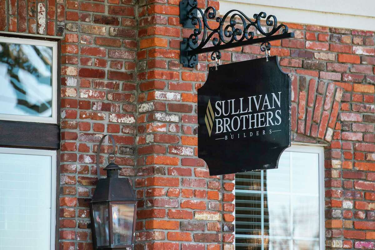 The Evia subdivision, an upscale development on Galveston's West End built by the Sullivan family of builders, Wednesday, Jan. 13, 2021.