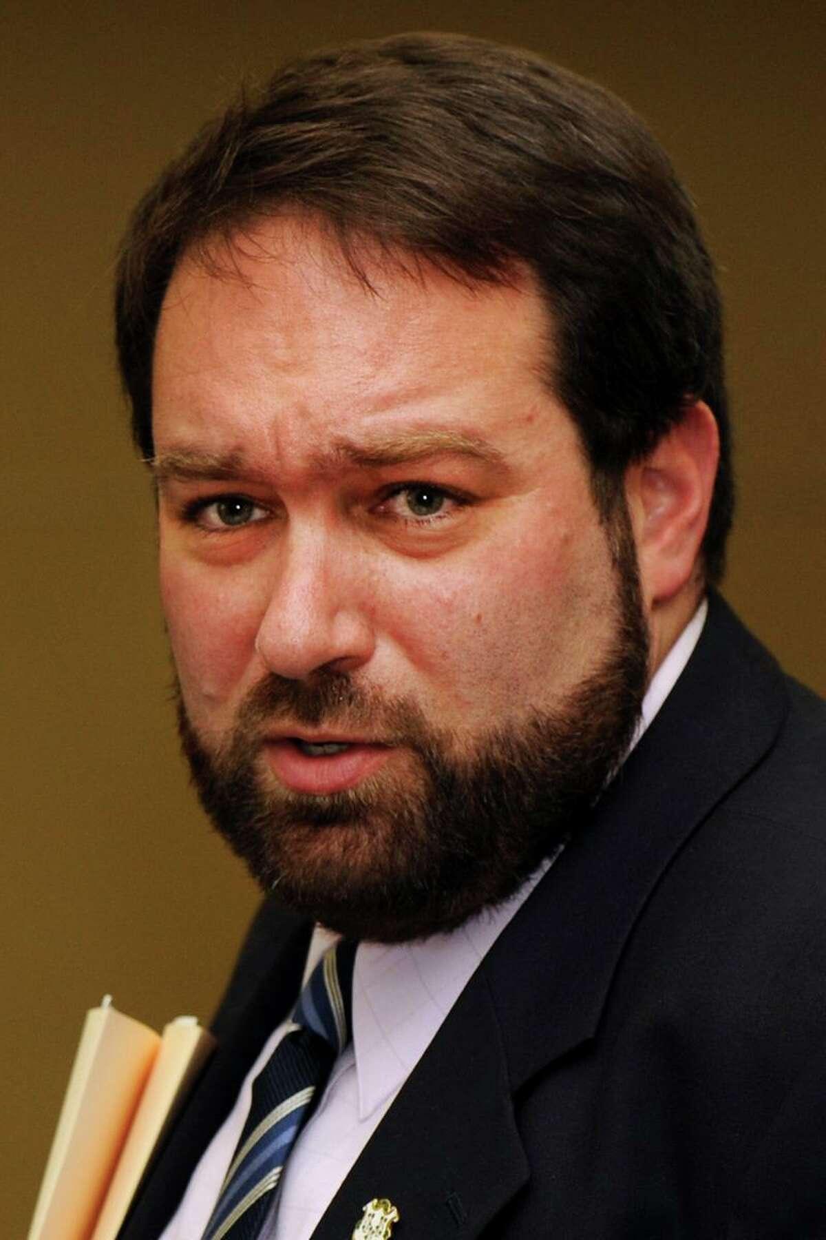 Av Harris has been filling in as spokesman for Bridgeport Mayor Joe Ganim.