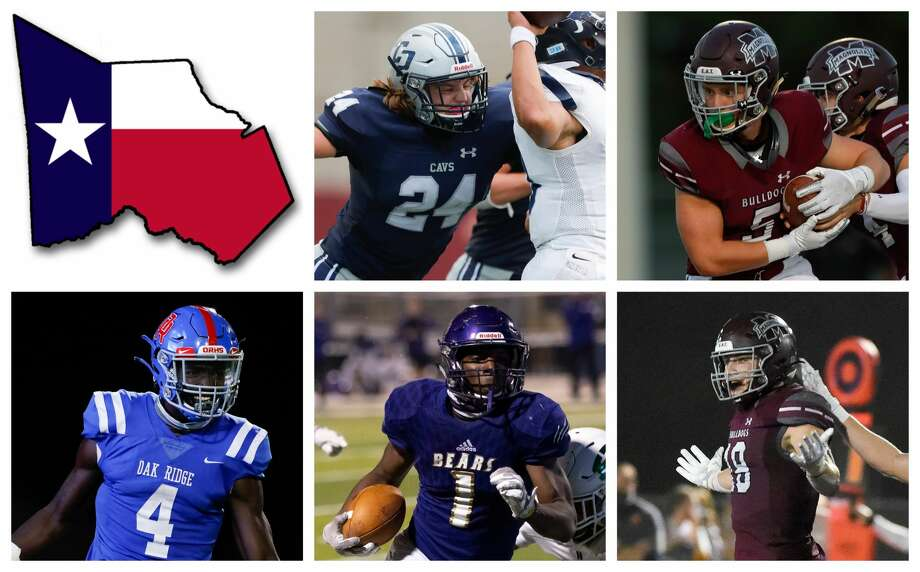 Dylan Hazen, Mitch Hall, Alton McCaskill, Jalen Washinton and William Alexander areThe Courier's nominees for Player of the Year. Photo: Staff File Photos