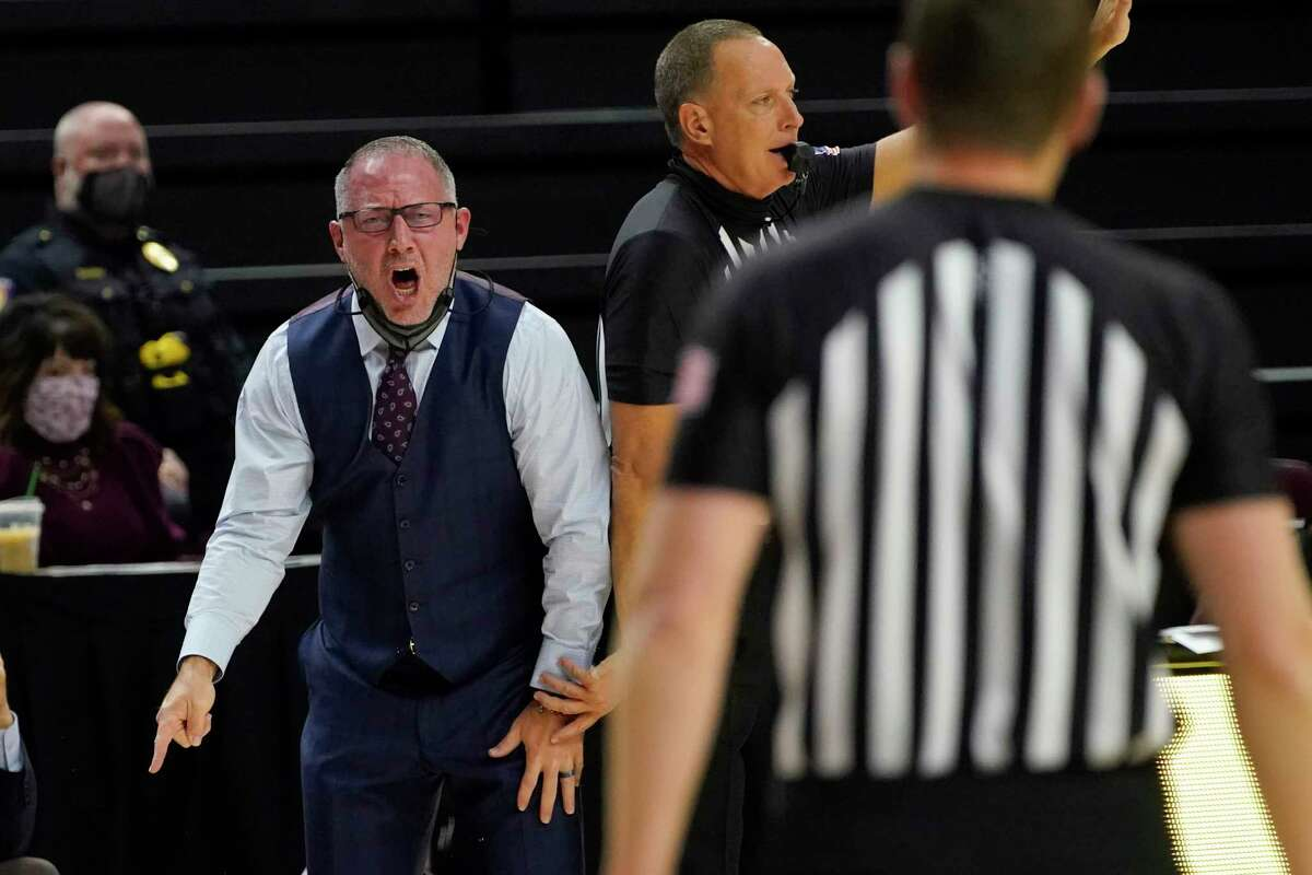 Buzz Williams and Texas A&M will miss another game after weather postponed Thursday's meeting with Alabama.
