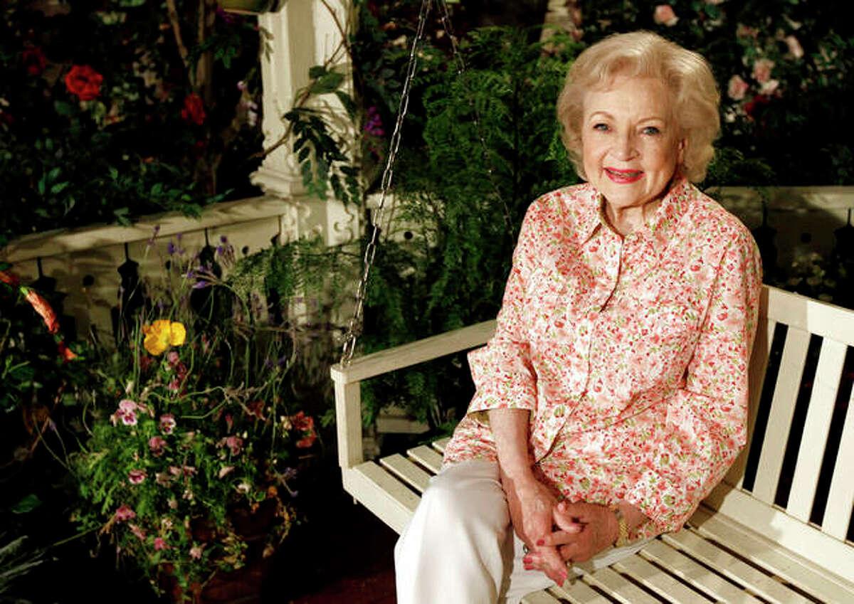 Actress Betty White will turn 99 on Sunday.