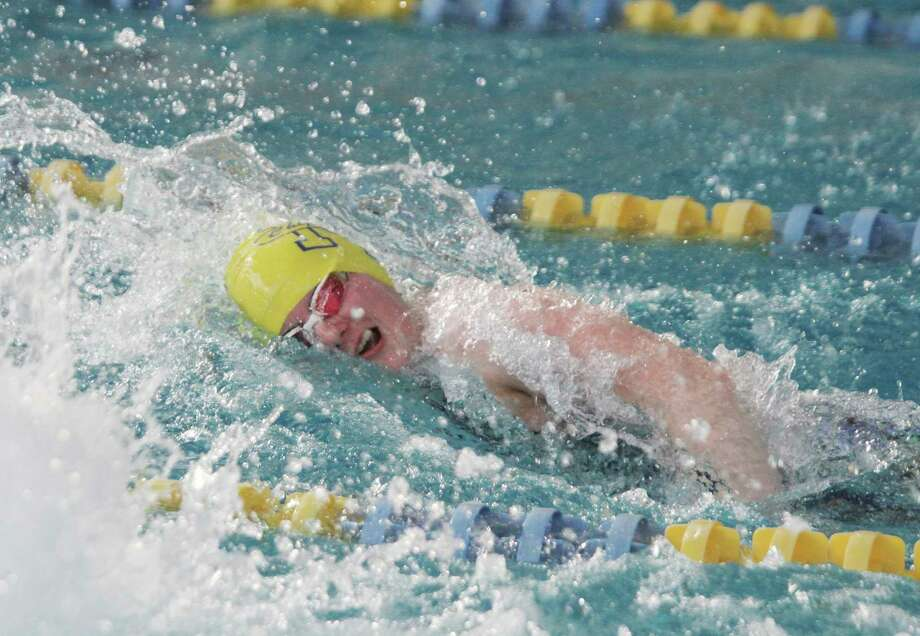 Manistee senior Lauren Mendians took a 12th-place finish in the 50-yard freestyle in the time of 24.92 during Saturday's Division 3 state finals. She also took 19th in the 100-yard butterfly in 1:02.49. (News Advocate file photo)
