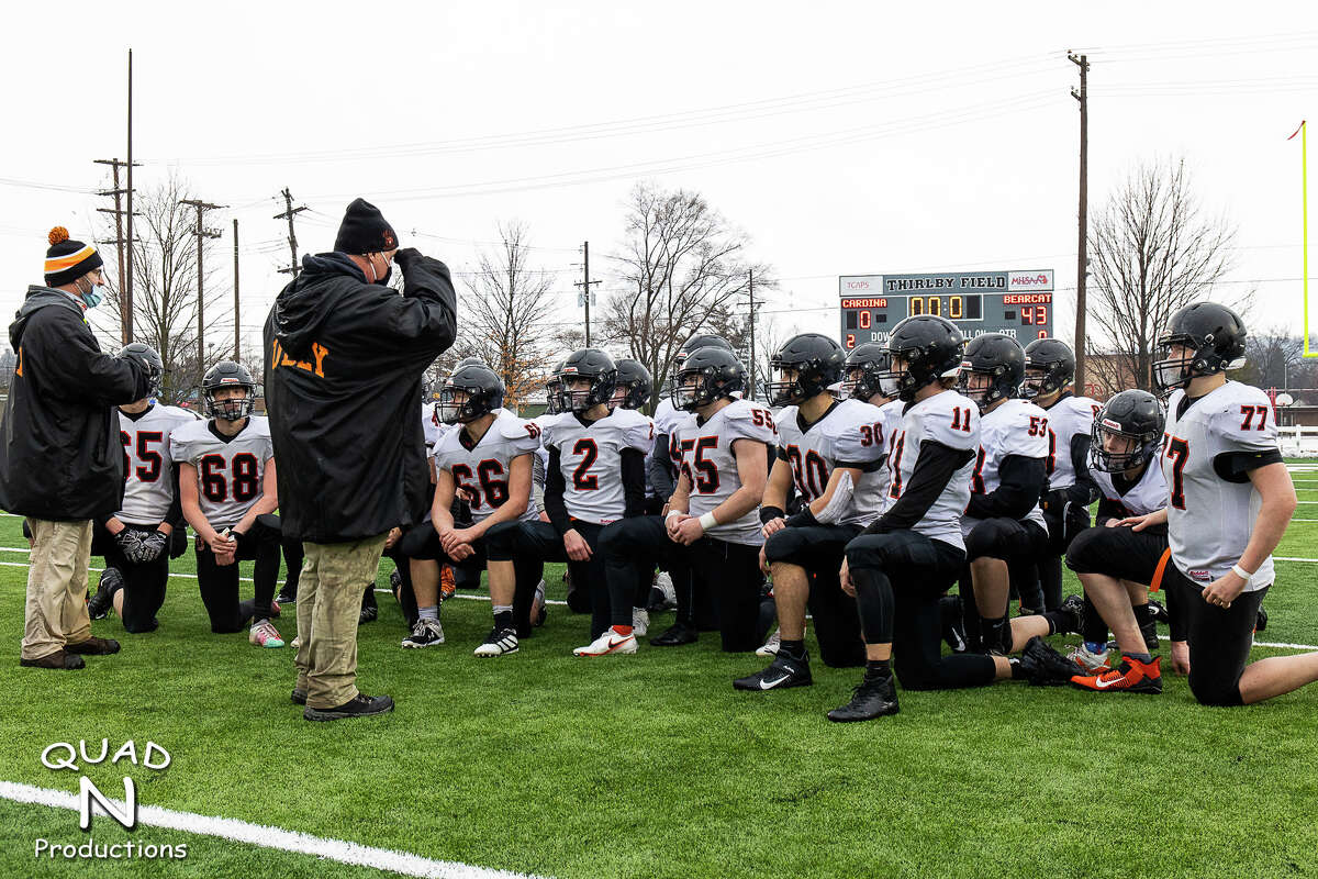 The Ubly Bearcats rolled over Johannesburg-Lewiston in their semifinal matchup in Traverse City on Saturday afternoon to earn a trip to the Division 8 championship game on Friday, Jan. 22, at Ford Field in Detroit. The Bearcats won, 43-0.