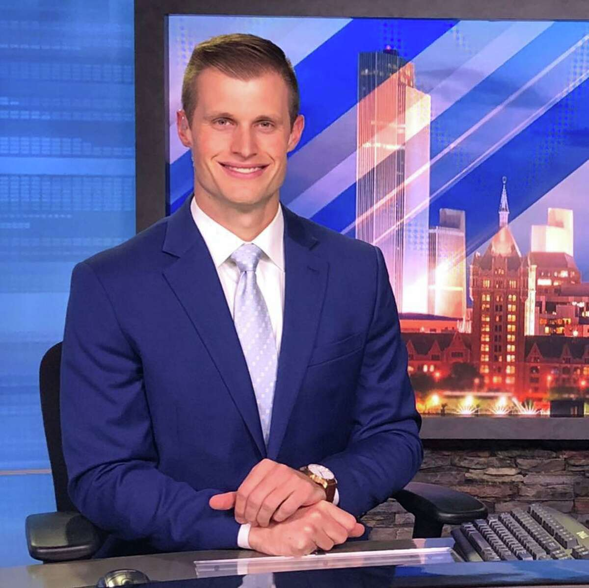 CBS6's newly named sports director Chet Davis is today's