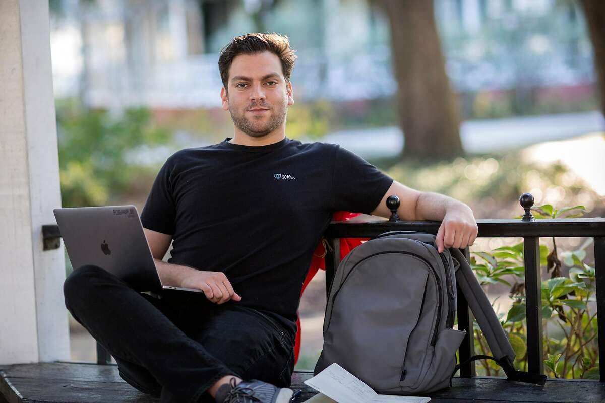 Keyan Karimi, a start-up investor who recently fled San Francisco, in Savannah, Ga., on Dec. 18, 2020.