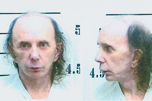 In this handout photo provided by the California Department of Corrections and Rehabilitation (CDCR), inmate Phillip Spector poses for his mugshot photo on June 5, 2009 at North Kern State Prison in Delano, California. Spector was received by the California Department of Corrections and Rehabilitation from Los Angeles County with a 19-year sentence for second-degree murder for the February 2003 shooting death of actress Lana Clarkson. He is currently at North Kern State Prison, a reception center in Kern County. The reception center process is used to make housing determinations. (Photo by CDCR via Getty Images)