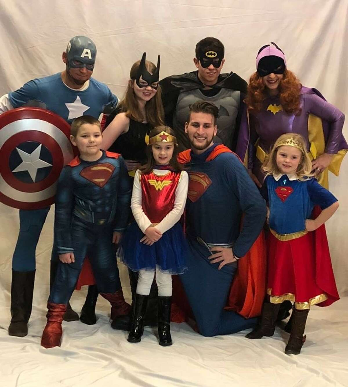 2. During a photoshoot, I dressed as Batwoman, and Ben Grant and Rylyn Swierzewski came dressed as Batman and Batgirl. None of us planned it. Ben and Ry were the 2012 Boy and Girl of the Year Honorees when I won the local LLS title of MWOY in 2012!