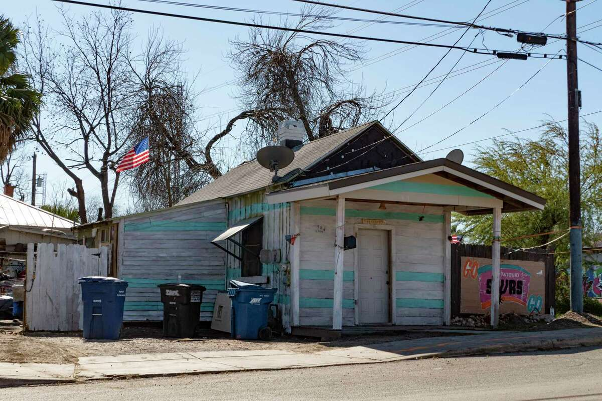 This shotgun house at 946 W. Ashby Place is thought to have been built in the 1870s. It is one of about 300 spread throughout San Antonio's urban core.