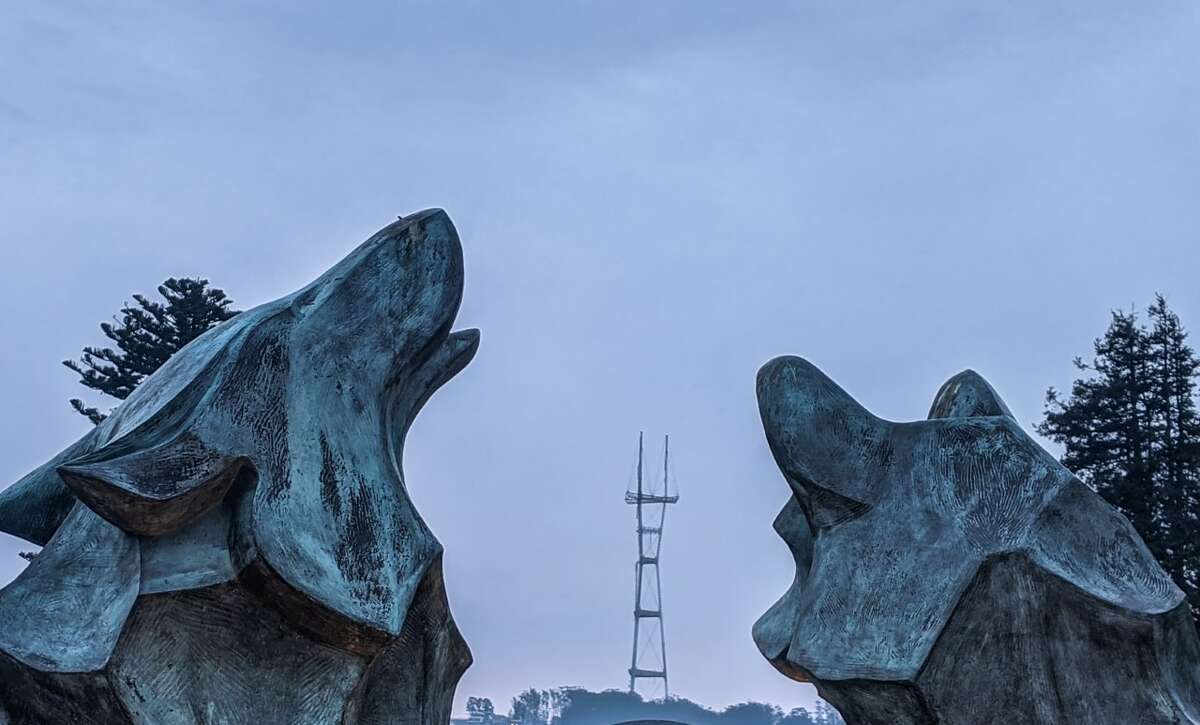 The location of the newest clue - a notable statue of howling wolves - will be revealed on Tuesday.