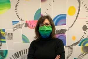 Painter Gina Occhiogrosso