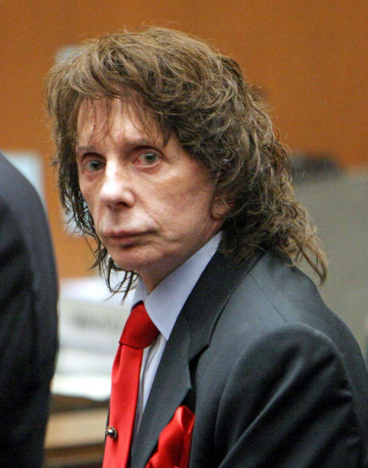 Since 2009, Phil Spector had been serving a prison sentence for the murder of Lana Clarkson, a nightclub hostess he took home after a night of drinking in 2003.Credit...Pool Photo Al Seib/Getty Images