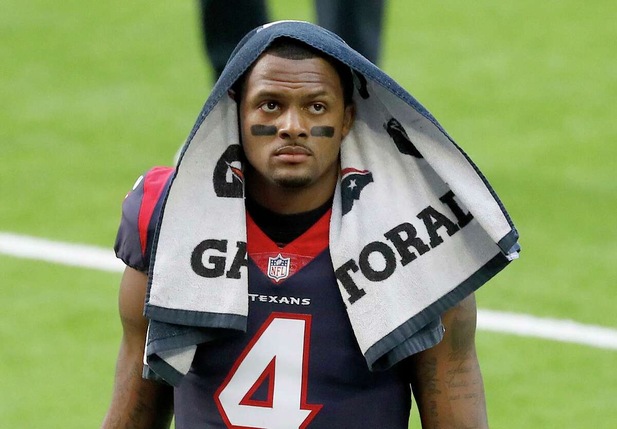 Texans quarterback Deshaun Watson has officially requested a trade, according to league sources not authorized to speak publicly.