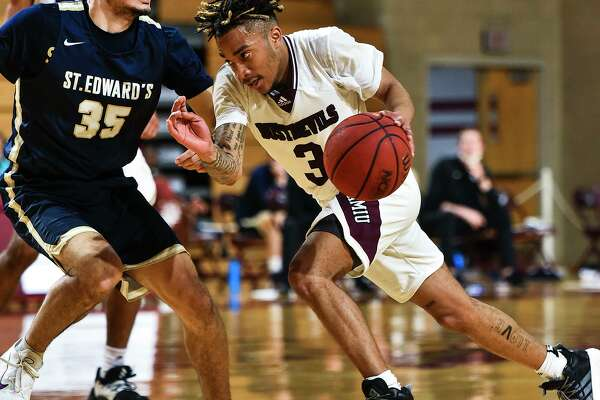 Freshman point guard Anthony Scott has turned into one of TAMIU's most consistent players this season.