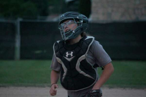 Rylee Shafer will be a catch for the Coyote softball team. (Pioneer file photo)