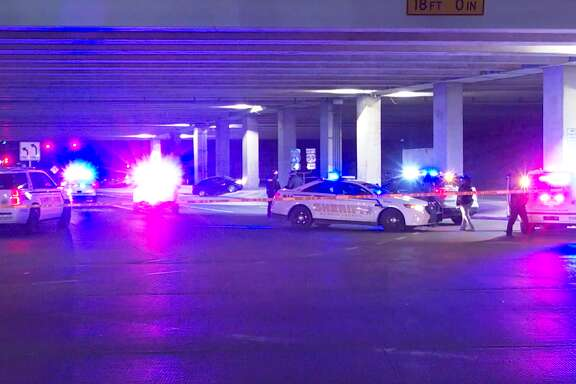 A man was shot to death on Jan. 18, 2021, along Aldine Bender Road near the Eastex Freeway underpass.