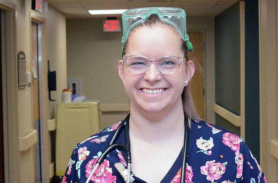 Passavant Area Hospital registered nurse Ashley Lancaster. Photo: Photo Provided