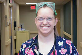 Passavant Area Hospital registered nurse Ashley Lancaster.