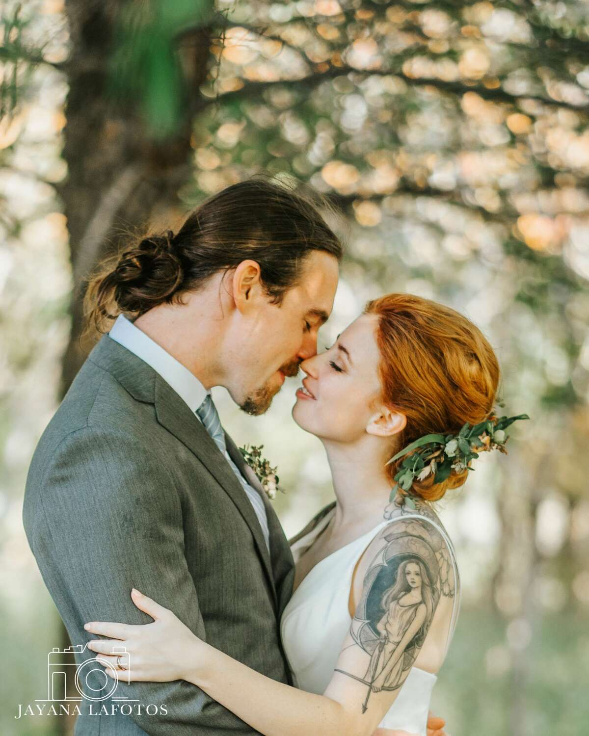 Emily and Chris Scully were married in Ancramdale on Oct. 10, 2020.