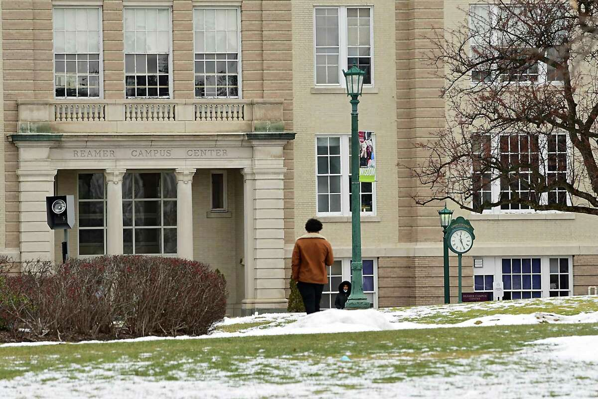 The Union College campus on Monday, Jan. 18, 2021. The school will decide by March 1 if spring sports will be played. (Lori Van Buren/Times Union)