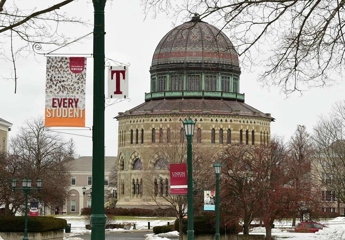 Union College campus on Monday, Jan. 18, 2021 in Schenectady, N.Y. (Lori Van Buren/Times Union)