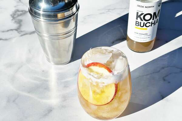 Seek North Kombucha, based in Kingston and available within the Capital Region, comes in different flavors and can be used in mixers for mocktails.