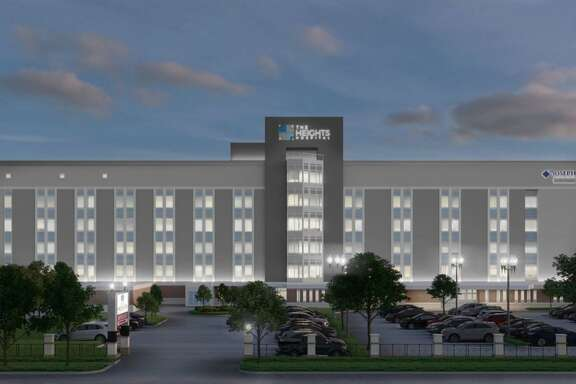 The Heights Hospital when it wa aquired by AMD Global, LLC in 2017.