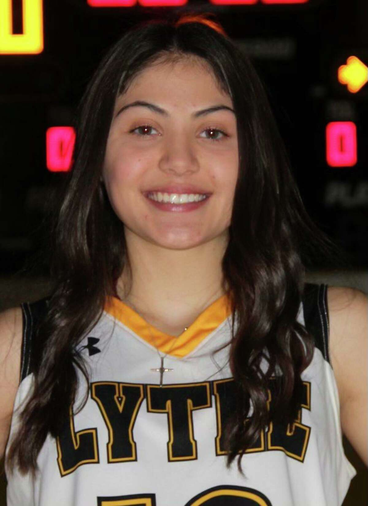 Calyssa Sevier is a freshman guard for Lytle.