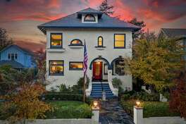 Actor Clark Gable was a previous residence of 447 Randolph St. in Napa, a four-bedroom, four-bathroom home that dates back to 1905.
