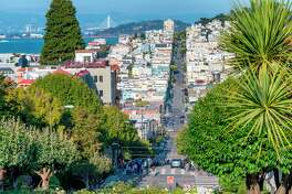 The neighborhood's name dates back to the Gold Rush, when settlers happened upon a small Russian cemetery at the top of the hill. The cemetery was moved, but the name stuck.
