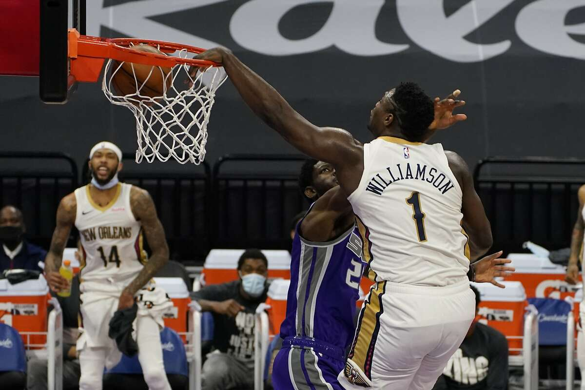 Zion Williamson and the Pelicans visit Utah at 6 p.m. Tuesday (NBA TV).
