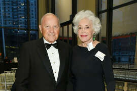 Charles Johnson and Ann Johnson attend the New York Philharmonic's Opening Gala on Sept. 20, 2018.