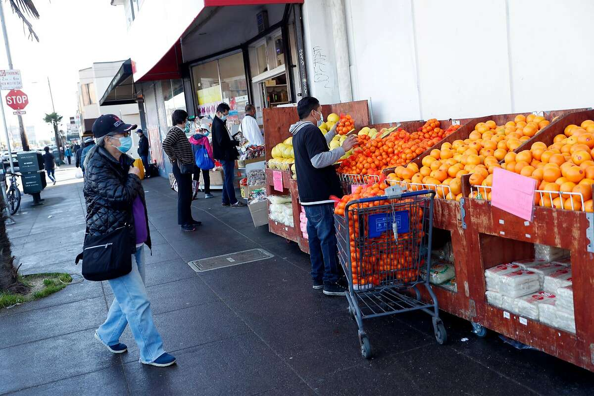 25th Irving Market in the Sunset District of San Francisco, Calif., on Thursday, January 14, 2021.