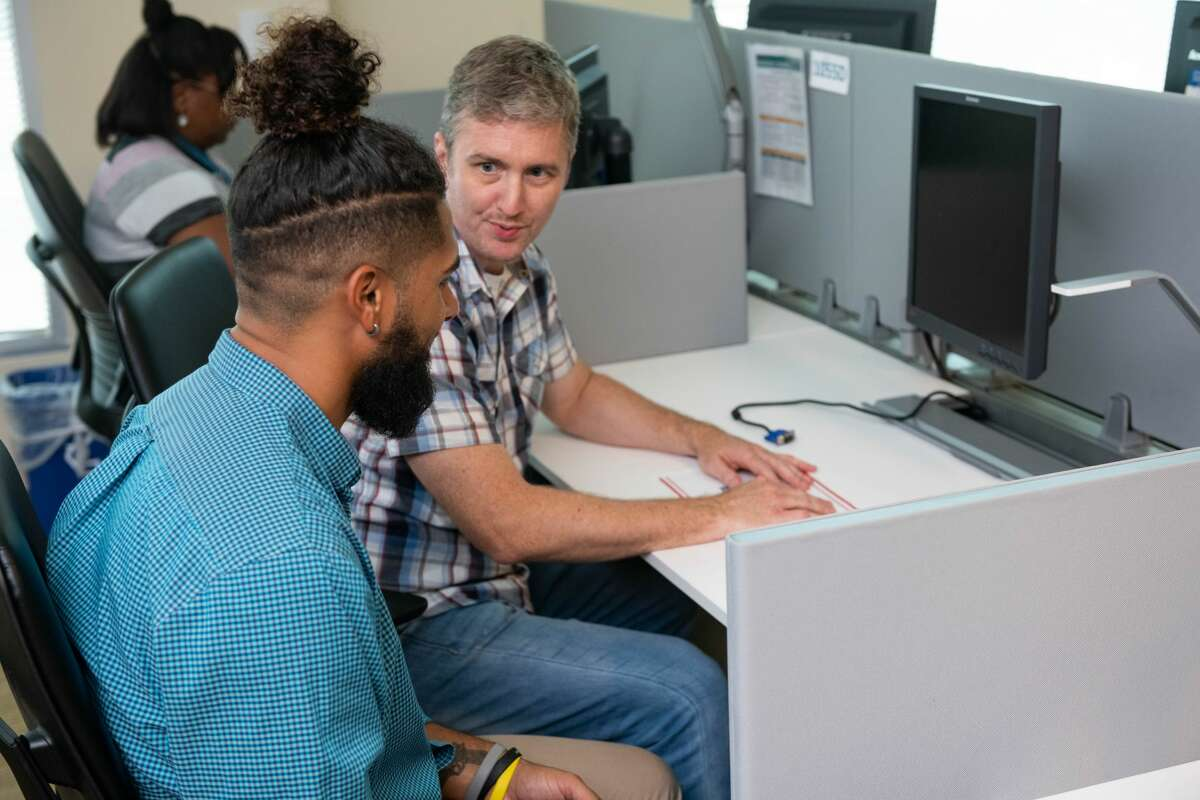 Workforce programs designed to help people transfer their skills into new careers.