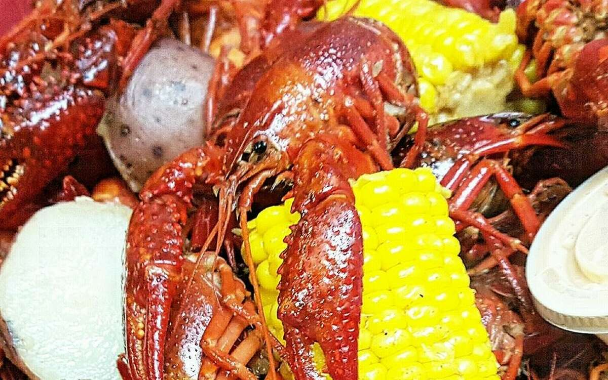 The Cajun Stop offers traditional Cajun-style boiled crawfish.
