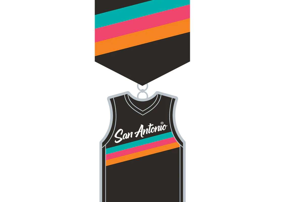 Spurs Give, the team's official non-profit, unveiled the organization's 20201 Fiesta medal on Tuesday with pre-orders to shortly follow. This year's design is a replica of the City Edition Fiesta jersey.
