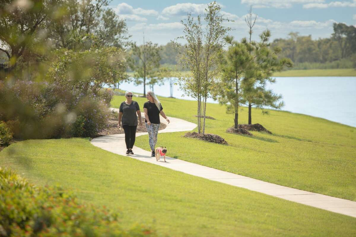 Meridiana boasts 100-plus acres of parks and more than 50 miles of paved trails for walking, jogging and biking.