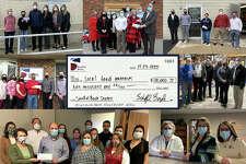 Scheffel employees donate $10,000