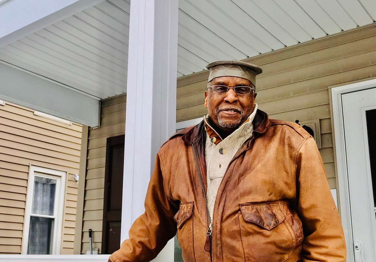 Walter Simpkins, recipient of a Community Hero Award, said the perception of Hamilton Hill as a blighted neighborhood does not fit the reality of living there.