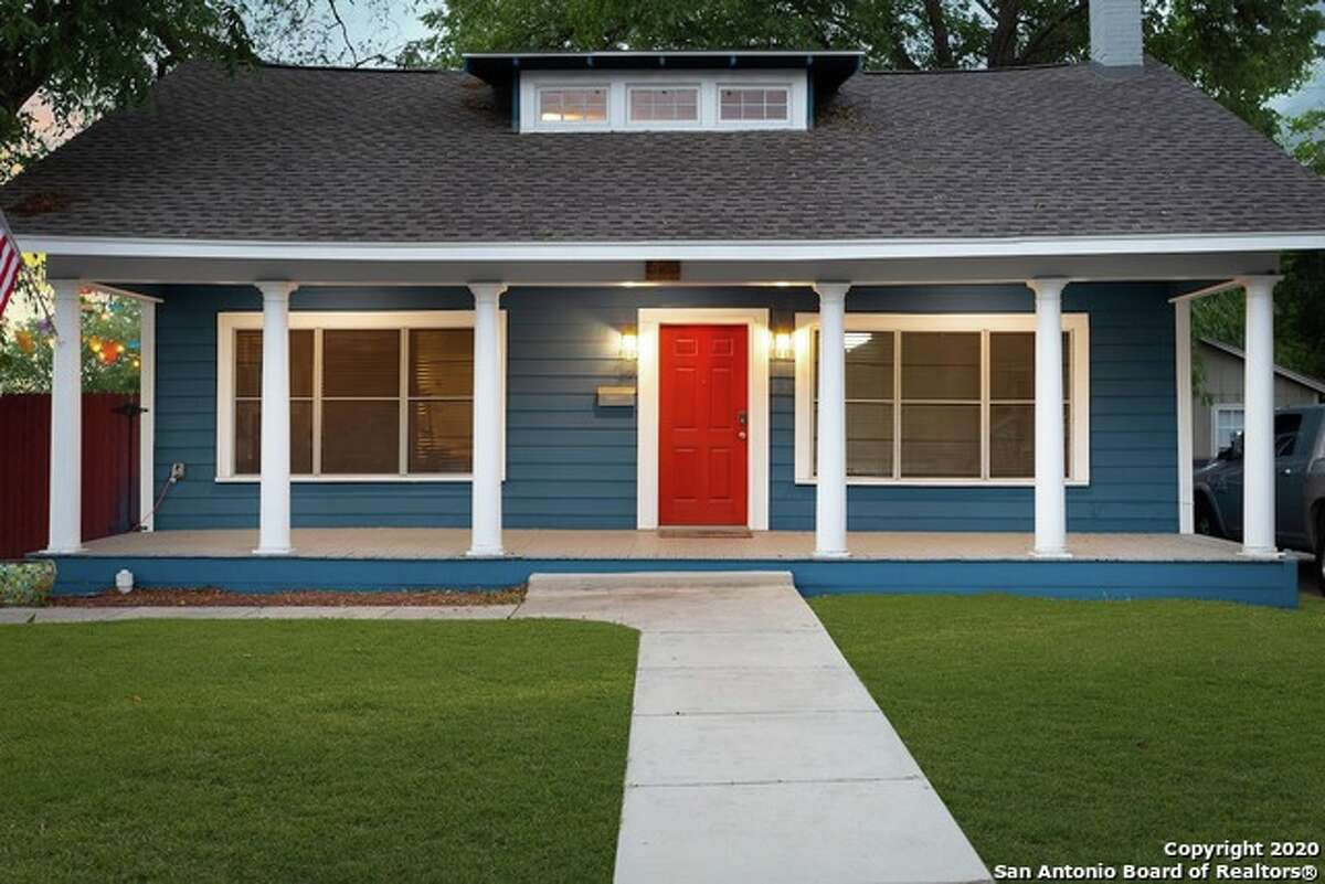 Tobin Hill has early 1900s Craftsman-style homes with wide front porches and original historic features.
