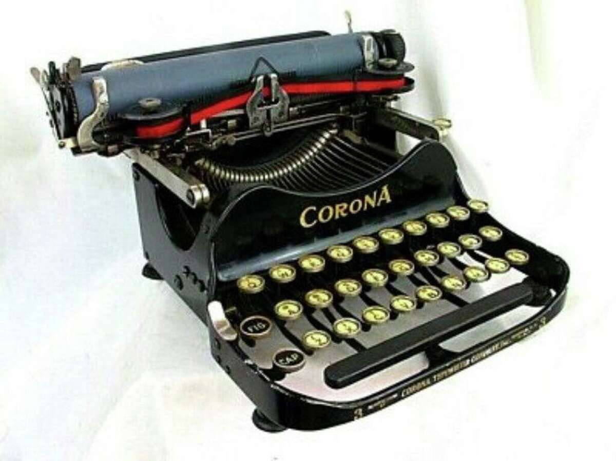 No, Elizabeth Page does not write her columns on one of these.