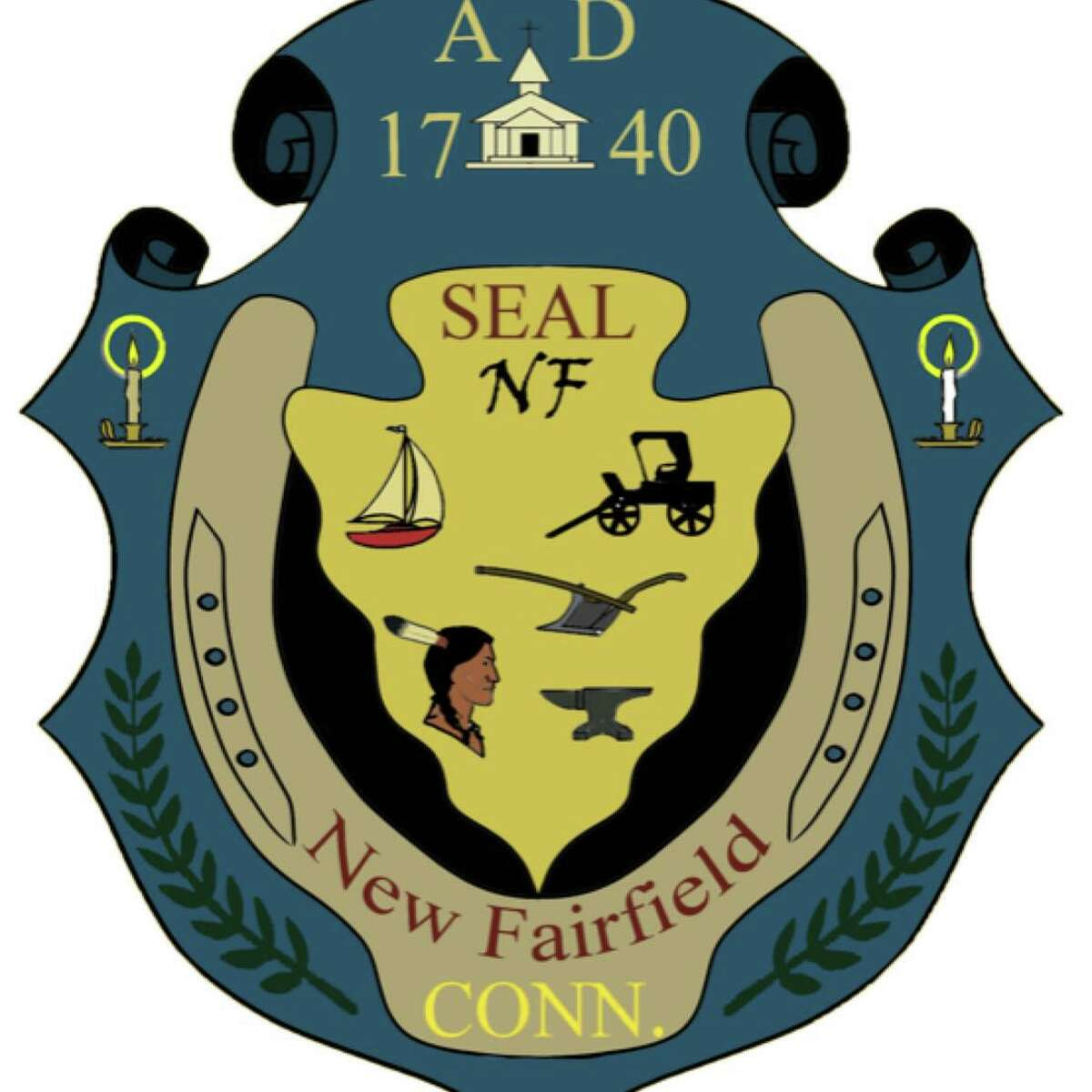The New Fairfield Economic Development Commission is looking into possibly changing the town seal.