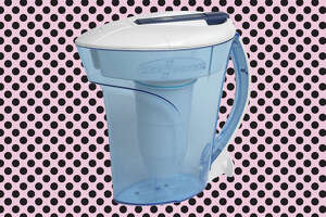 ZeroWater® 10-Cup Ready Pour™ Pitcher with Free Water Quality in Blue  for $17.50 at Bed Bath & Beyond