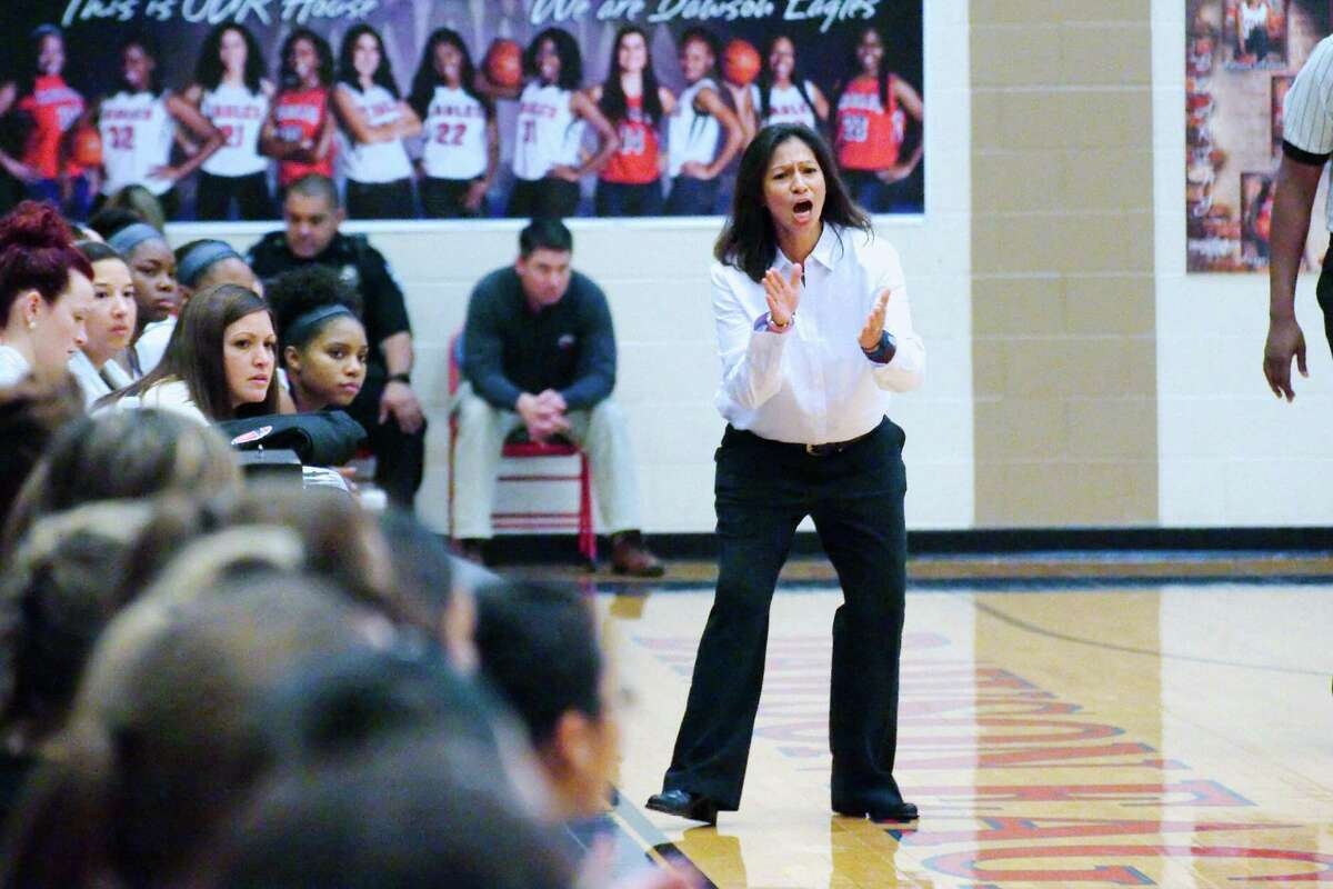 Dawson head girls' basketball coach Isabel Gomez hopes her team can end the season with a strong finish to qualify for the playoffs.
