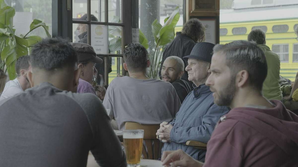 Stills from the film 'Through the Windows' by Petey Barma and Bret Parker showing the historic Twin Peaks Tavern in the Castro.