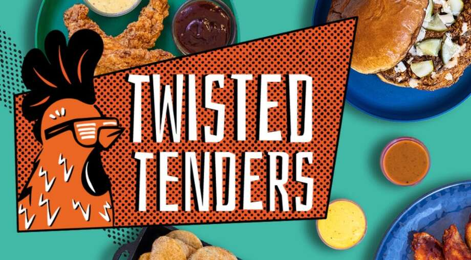 Twisted Tenders, an online brand operating out of Logan's Roadhouse in Midland, can be ordered through third-party apps like DoorDash. (Screen photo/Twisted Tenders website) Photo: Screen Photo