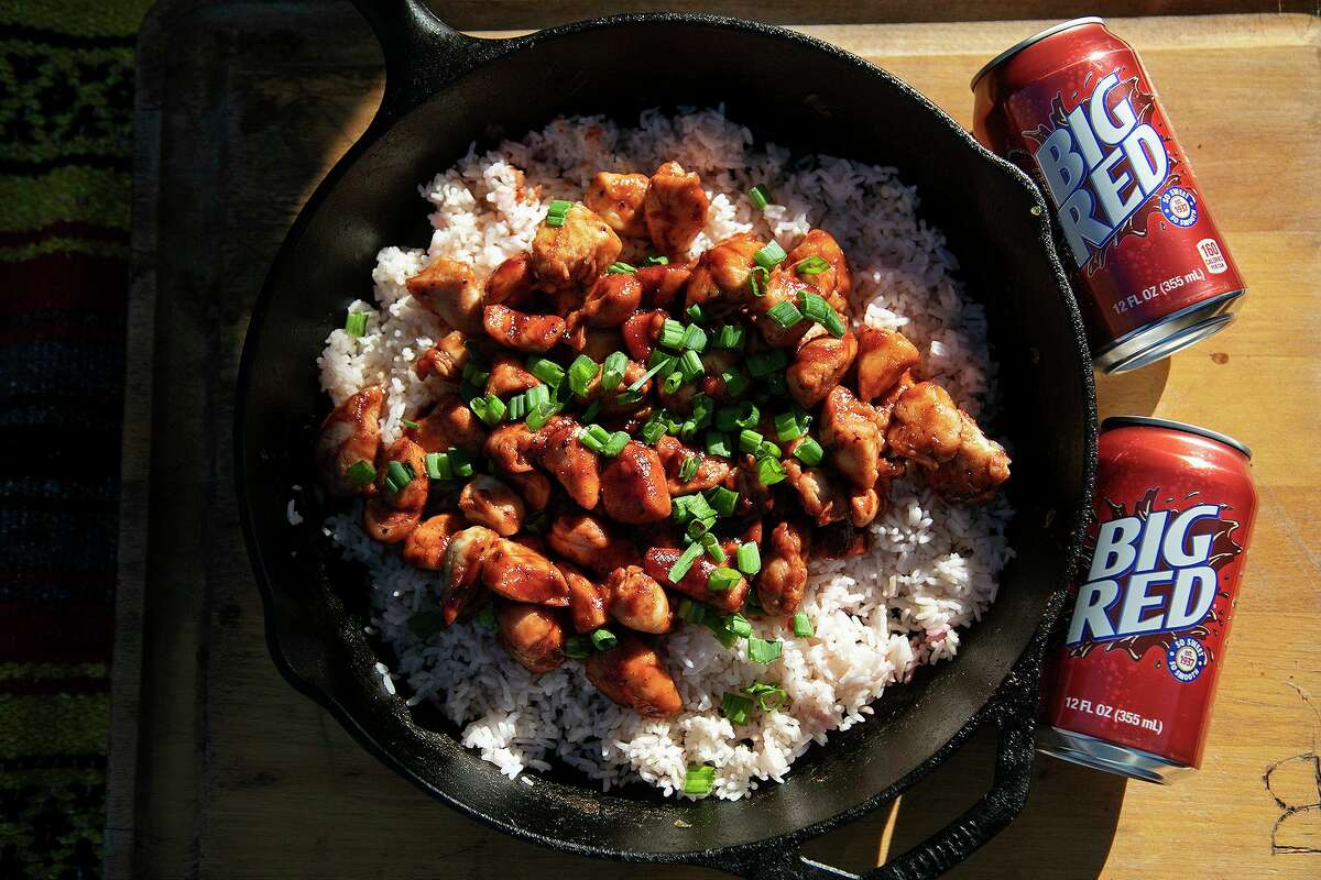 Big Red Sweet and Sour Asian Chicken