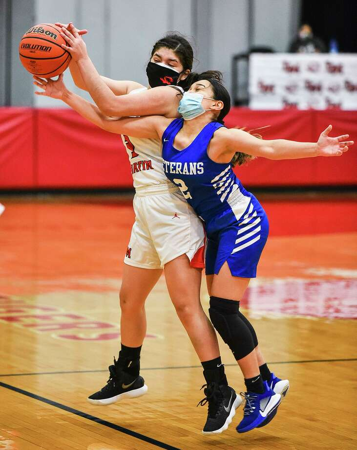 Ashley Lopez and Martin host league-leading Rio Grande City at 6 p.m. Tuesday with a chance to pull into first place in the District 30-5A standings. Photo: Danny Zaragoza / Laredo Morning Times