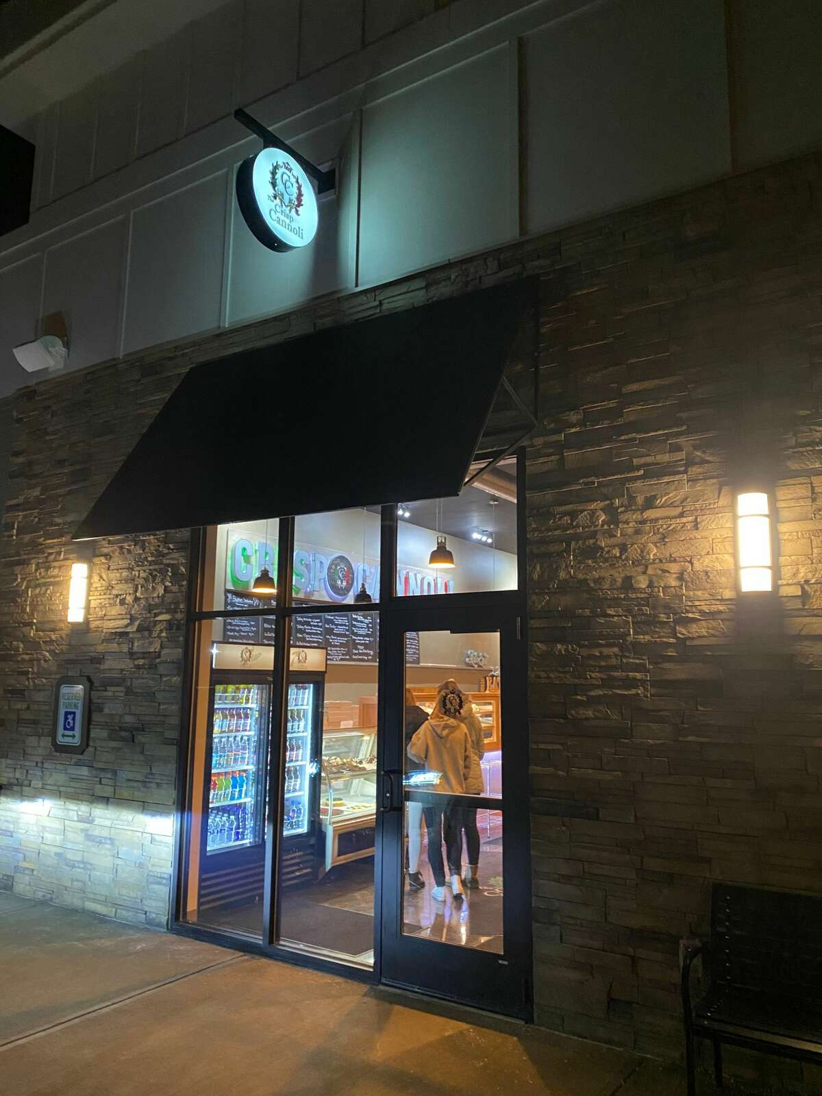 Exterior of The Crisp Cannoli in East Greenbush, which is also home to the Why Not Burgers concept on Friday and Saturday evenings.(Susie Davidson Powell photo.)
