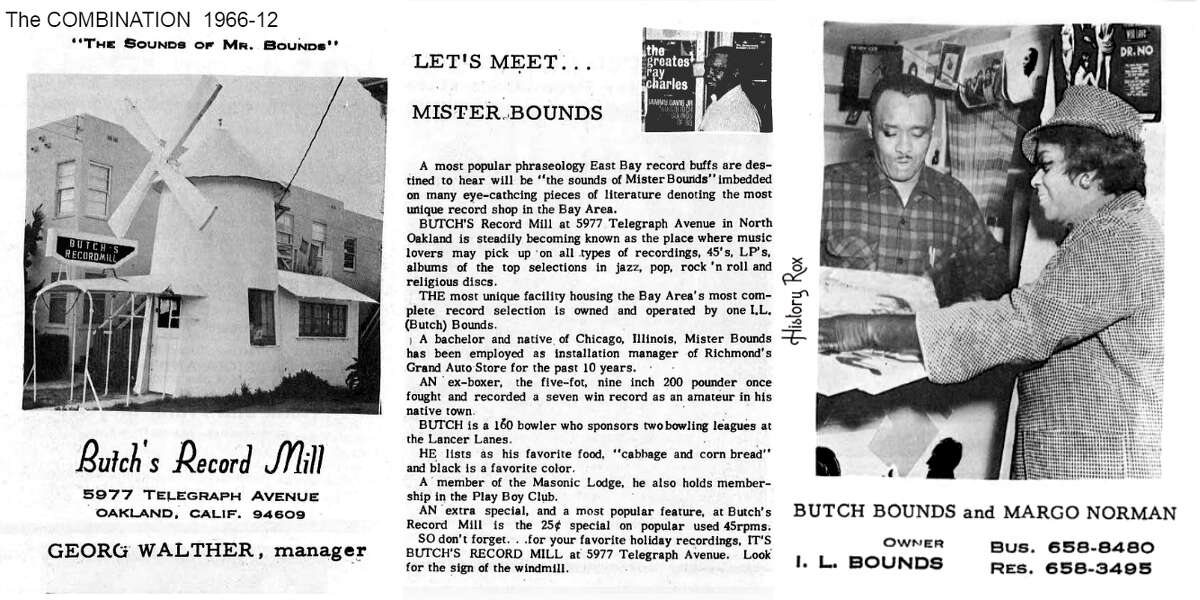 As this 1966 story in The Combination reveals, the windmill was once a very unique local record store.